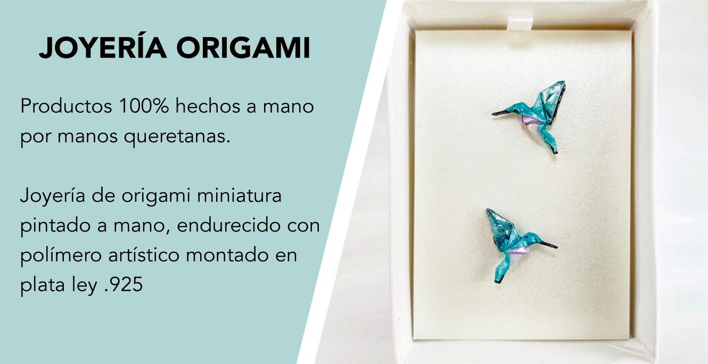 joyeria artesanal origami plata 925 okami queretaro mexico colibri