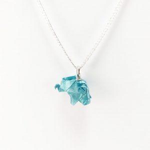 collar elefante origami okami joyeria
