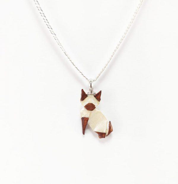 collar gato okami joyeria