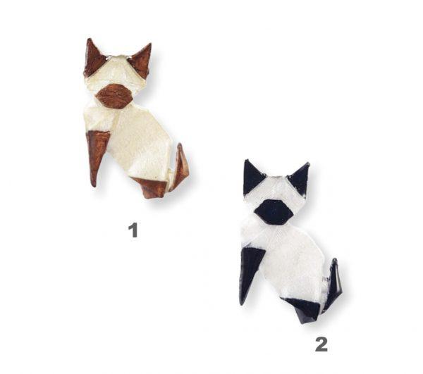 origami gatos colores pulsera collar okami joyeria mexico queretaro