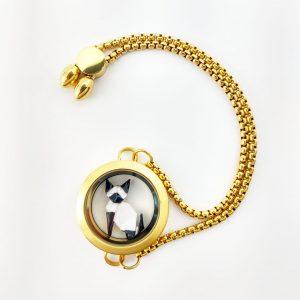 okami gato pulsera joyeria collar capsula acero inoxidable mexico queretaro regalo